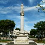 monument voor de gevallen werknemers van de ptt - den haag