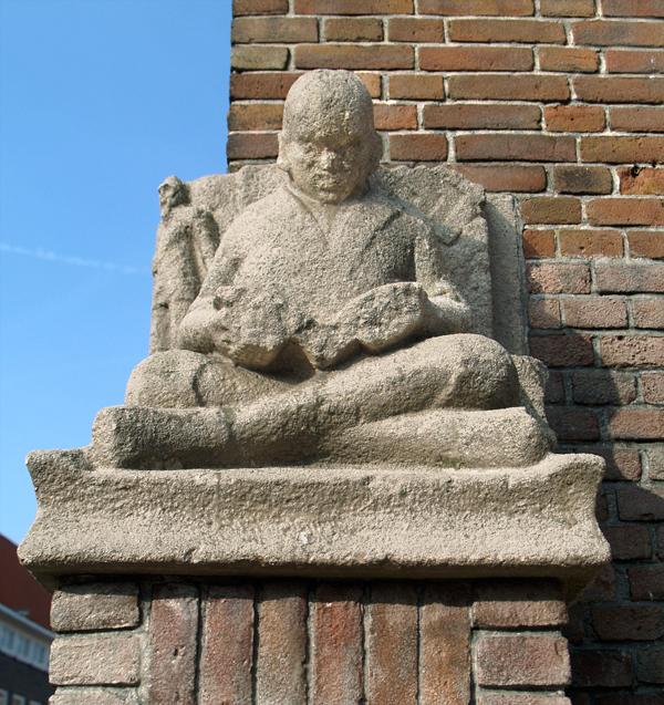 lezende jongen - foto: loek van vlerken 04.03.2011