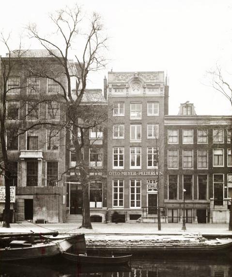 otto meyer pelterijen, keizersgracht 111-115 - april 1933 - beeldarchief gemeente amsterdam