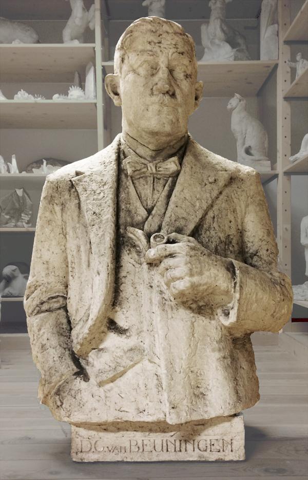 gips studie - van beuningen - collectie hildo krop museum - foto: loek van vlerken 10.07.2017