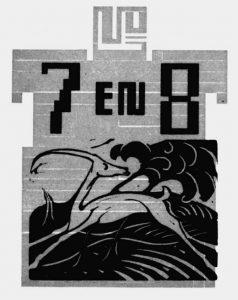 Gazelle - Wendingen nrs 7 en 8 - 1919