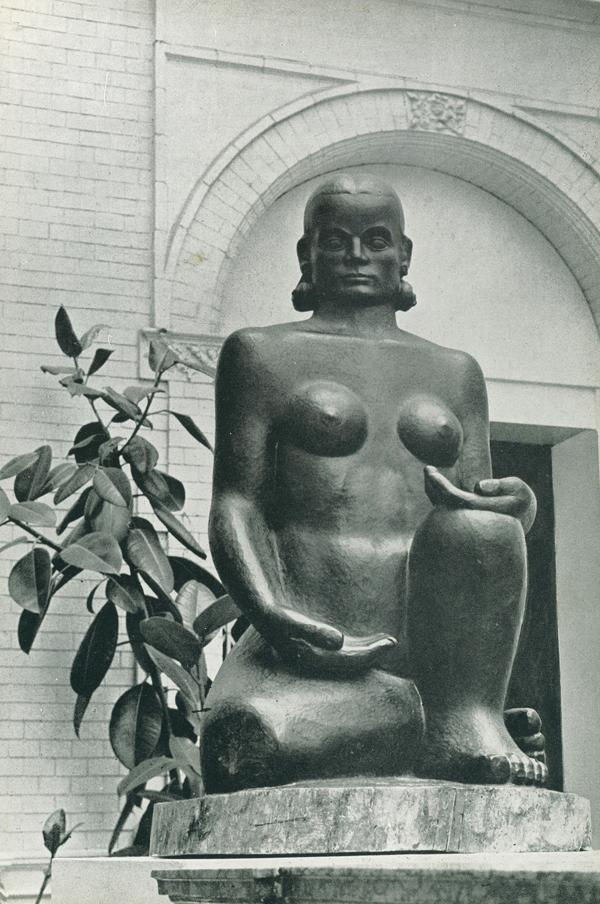 historische foto: stedelijk museum 1952