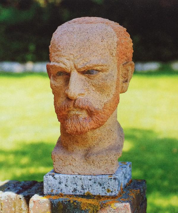 vincent van gogh (terracotta) - foto: lagerweij-polak