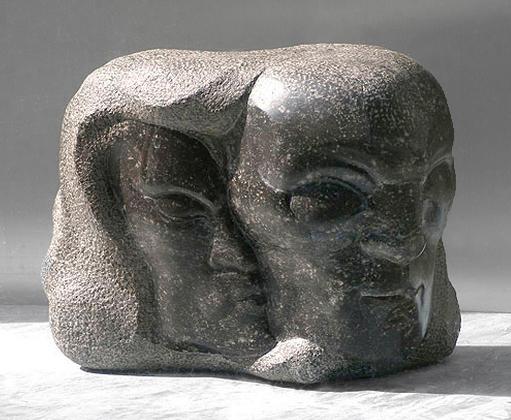 twee koppen / foto: hildo krop museum