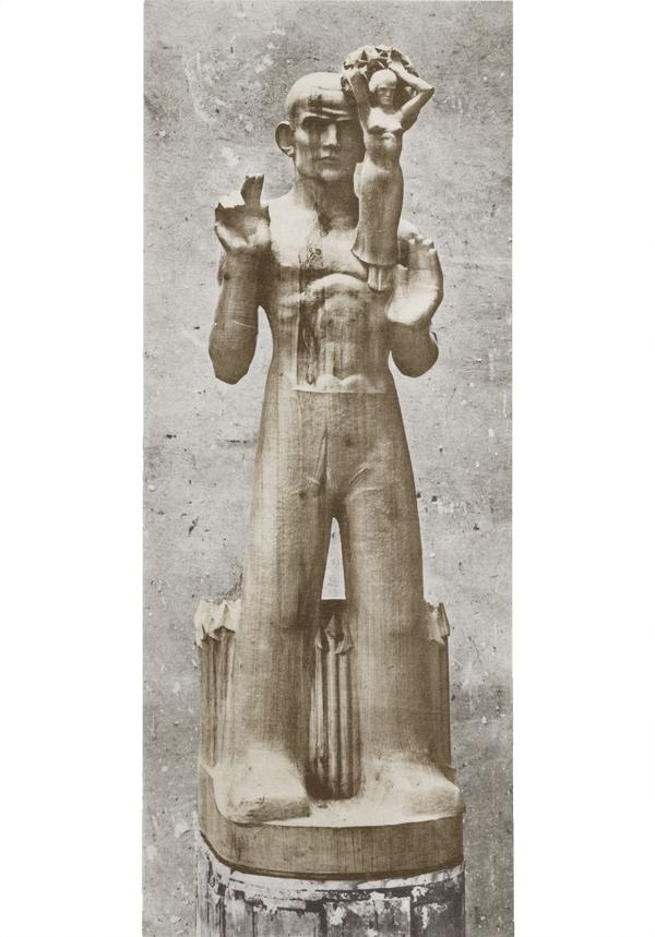 het oprijzen van de vrijheid uit de bezonnenheid, die geschraagd wordt door de eenheid - foto: hildo krop-jos de gruyter - collectie: loek van vlerken