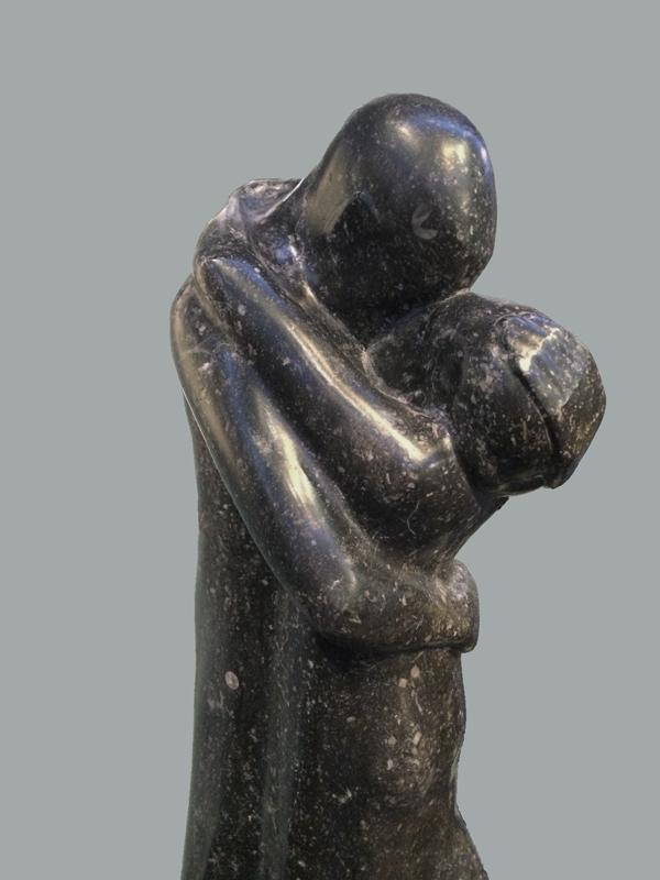de omhelzing gem.museum den haag (detail) - foto: loek van vlerken 09.01.2018