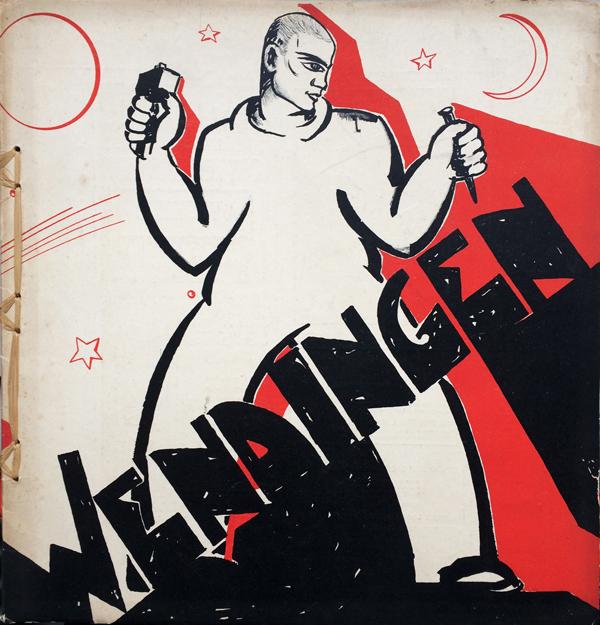 omslag wendingen jrg 12-nr.5/6 - 1931 - collectie loek van vlerken