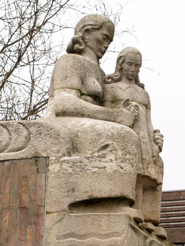 moeder en dochter 'Lyceumbrug' - foto: loek van vlerken 23.02.2011