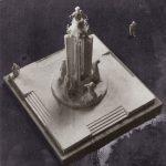 maquette monument voor de onbekende politieke gevangene