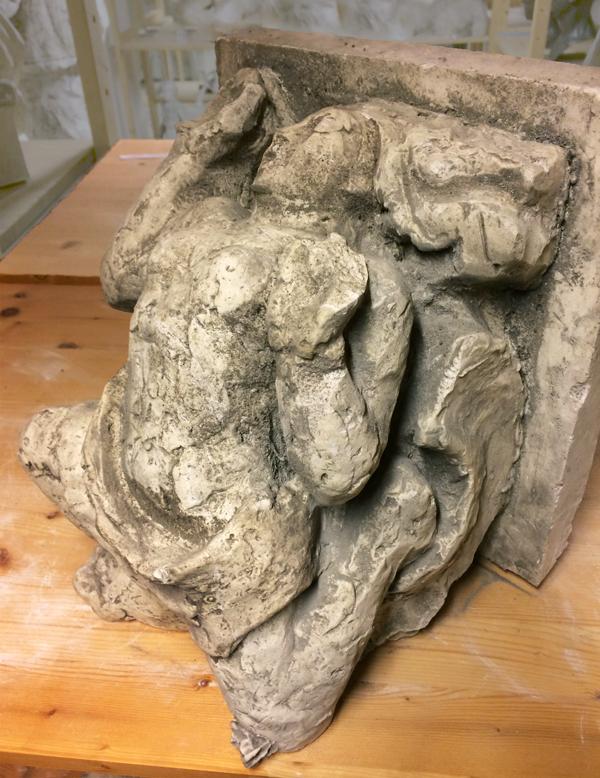 studie console (gips) collectie hildo krop museum - foto: loek van vlerken 15.01.2018