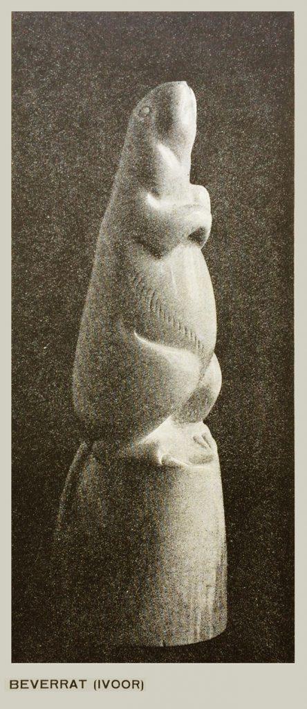 bisamratje - foto wendingen 1925 nr.2 - collectie loek van vlerken