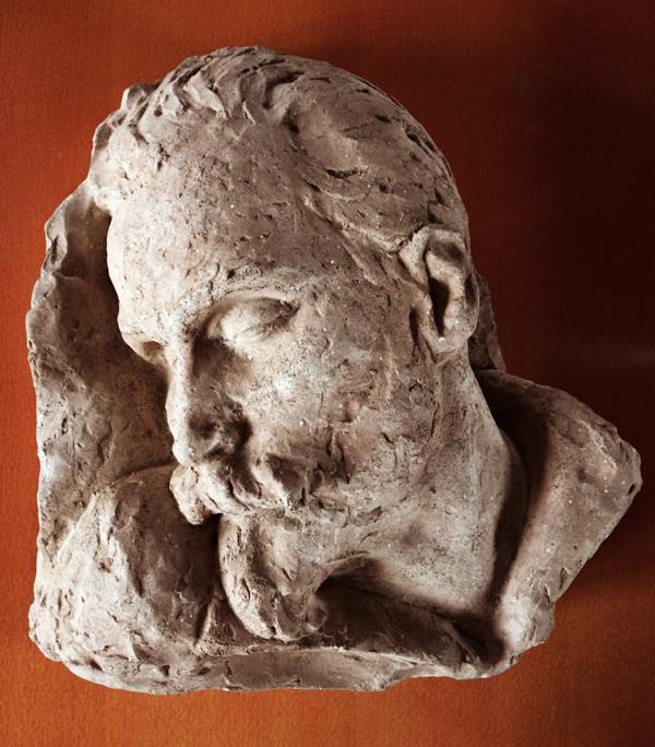 doodsportret erich wichman terracotta 2 - foto loek van vlerken 26.03.2018