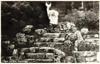 historische foto park berg en bos - ca. 1960