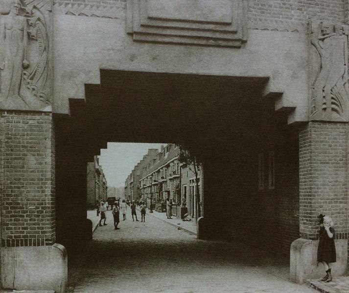 schalk burgerstraat ca.1930 - foto: hildo krop museum