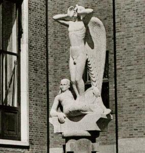 de vrijheid van de gedachte (pieter de hoochstraat) - foto: hildo krop museum