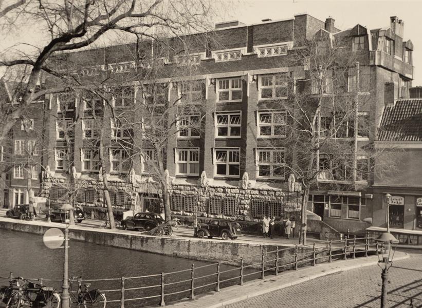 herengracht 295 - foto: stadsarchief amsterdam - fotograaf onbekend - jaren 50
