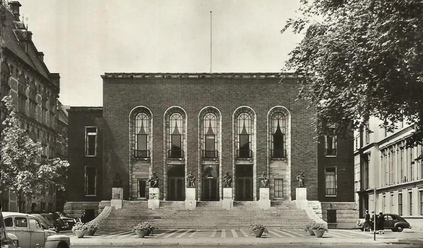 oorspronkelijke locatie hoge raad - foto: hildo krop museum