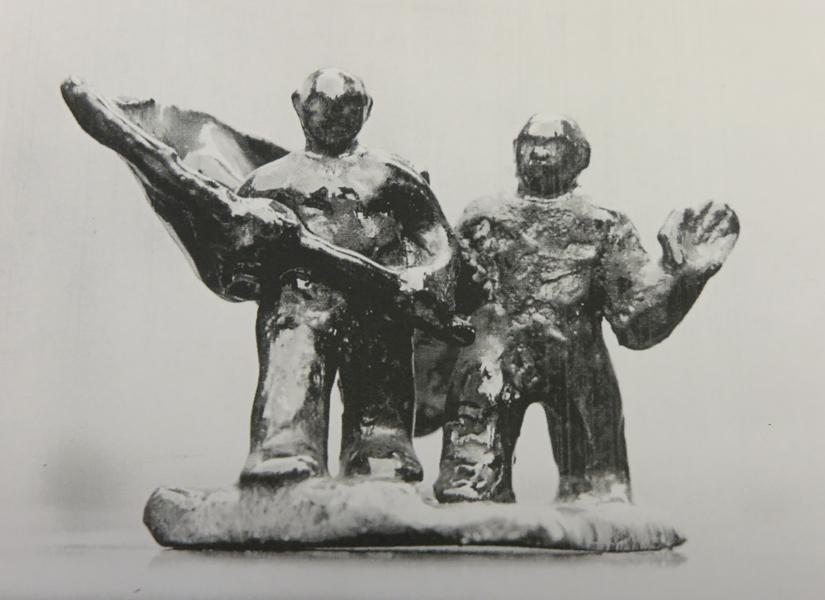ontwerp russen-begraafplaats - texel - foto: collectie hildo krop museum