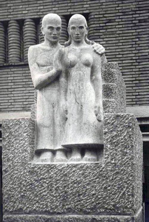 troost (origineel beeld) - foto: wendingen - 1931 5/6 - collectie loek van vlerken