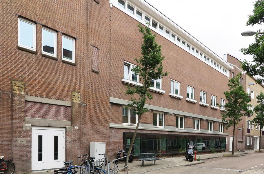 gevel school - foto: loek van vlerken 08.08.2018