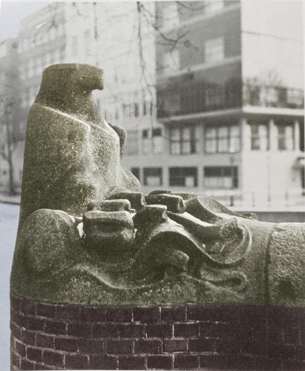 situatie vóór 1963 - historische foto: Hildo Krop Museum