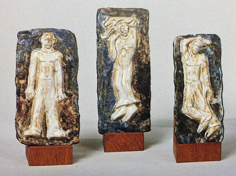 ontwerpen monument - reliëf plaquettes - foto: kunsthandel g.j. scherpel