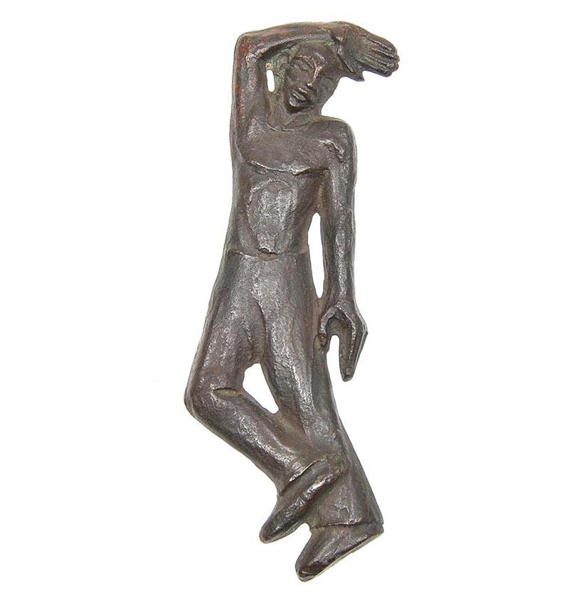 bronzen reliëf - foto: botterweg