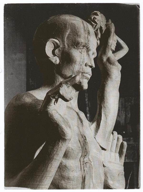 het oprijzen van de vrijheid - foto: collectie hildo krop museum
