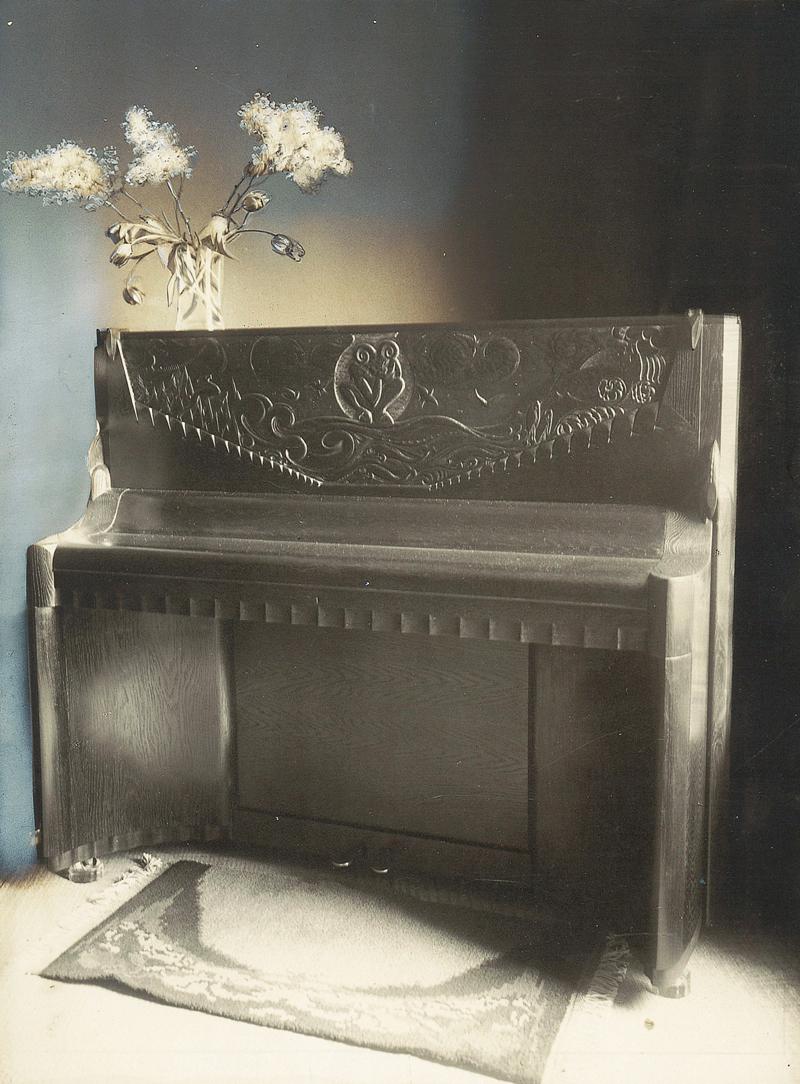 piano-ombouw - foto: archief hildo krop museum