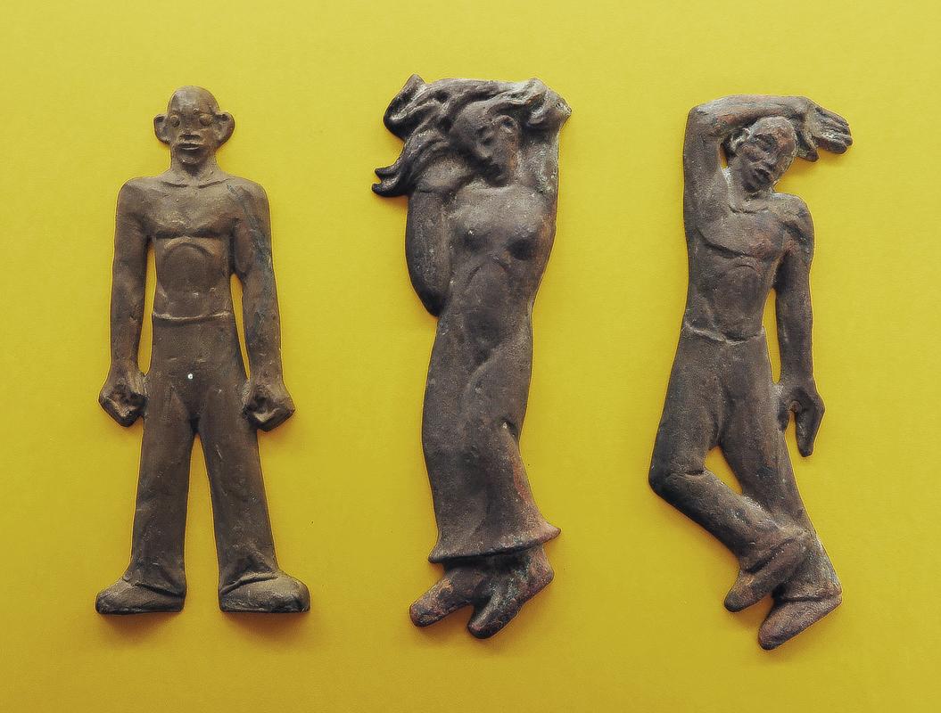 ontwerpen monument - reliëf brons - foto: loek van vlerken 07.01.2019