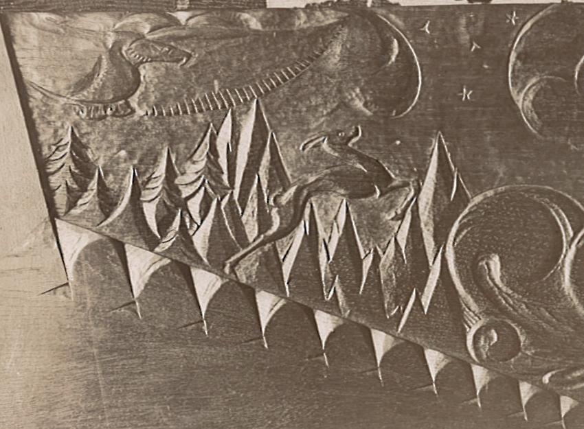 fragment piano-ombouw - foto: archief hildo krop museum