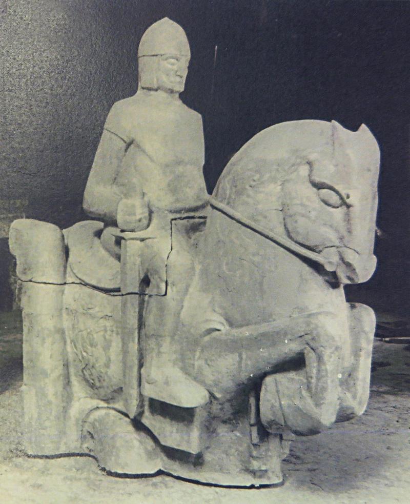 gipsmodel hertog hendrik I van brabant - foto: collectie hildo krop museum