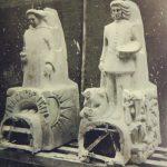gipsmodellen bisschop franciscus sonnius en jeroen bosch - foto: collectie hildo krop museum