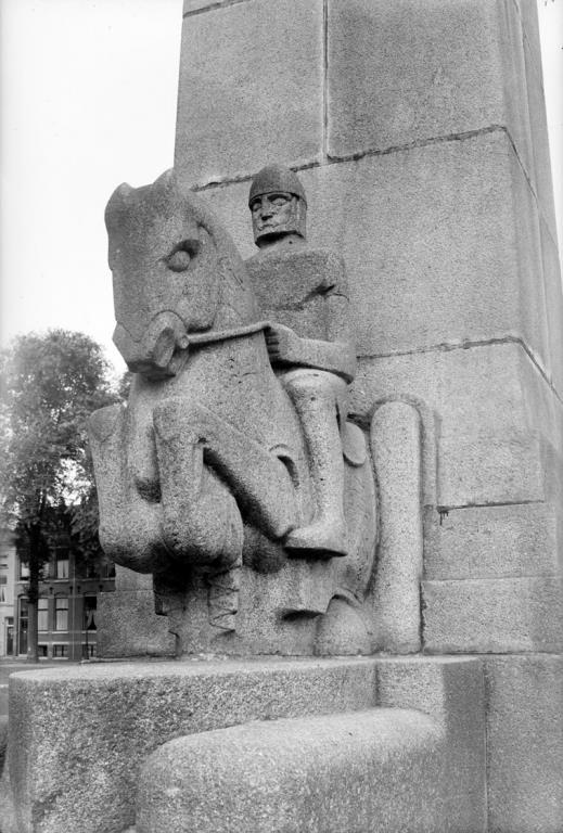 hertog hendrik I van brabant - historische foto ca. 1933: coll. hildo krop museum