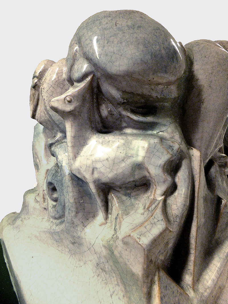 pan (detail) (collectie hildo krop museum) - foto: loek van vlerken 04.06.2013