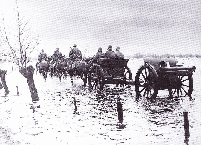 oefening op moeilijk begaanbare terreinen 1939