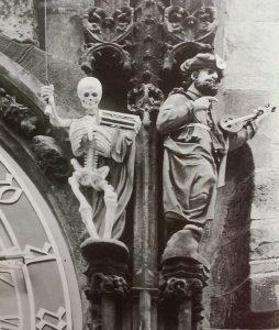 memento mori - foto: Praag laat je niet los-Rindert Brouwer,2001