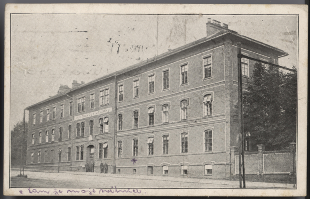 Kazerne Brno Sumavskástrasse jaren dertig