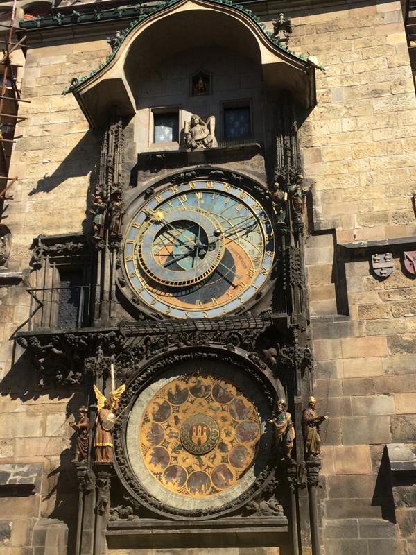 astronomische klok Praag mei 2017