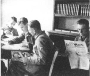 Ausbildungslager Sennheim in de Elzas